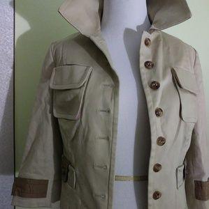 Tracy Reese Cropped Short Jacket/Blazer